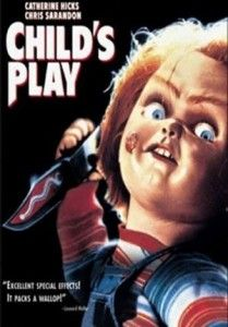 Cartel de la película Chucky, el muñeco diabólico