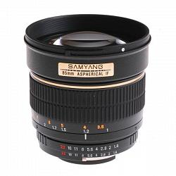 Samyang 85mm f/1.4 IF Aspherical Nikon 1