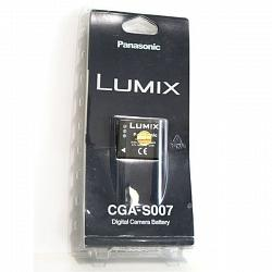 Bateria litio Panasonic Lumix CGA-S007