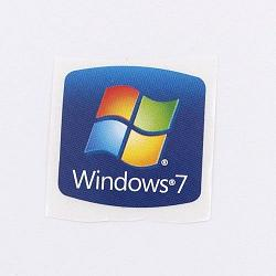 Pegatina sticker Windows 7